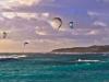 Kite-boarding at Gnarabup
