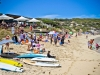 Peak summer at Gnarabup beach and the White Elephant Cafe