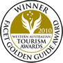 Winner of Western Australian Tourism Awards