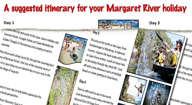 Availability in December and January and other things to do in Margaret River!