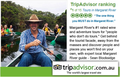 Trip Advisor Number 1 Margaret River Tour