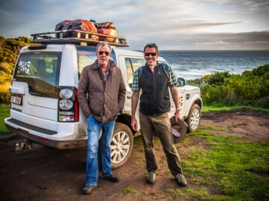 Jeremy Clarkson the 'former' Top Gear presenter experiencing the Margaret River region.